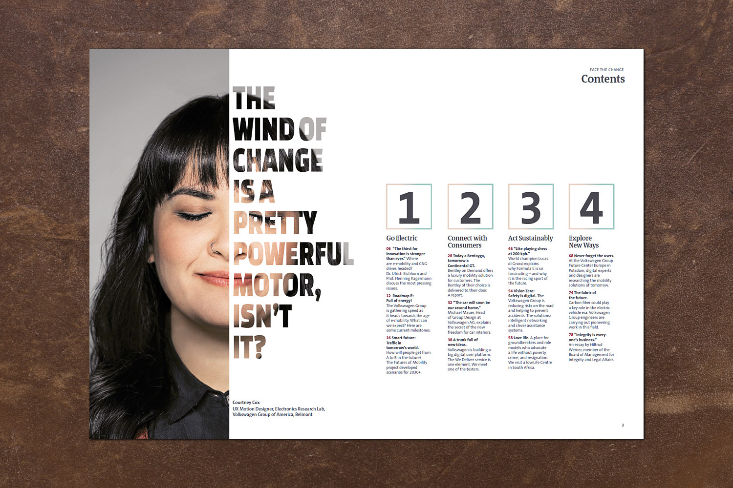 PATRICK STRATTNER PHOTOGRAPHY | TEAR SHEETS | Courtney Cox / VW - Face the Change