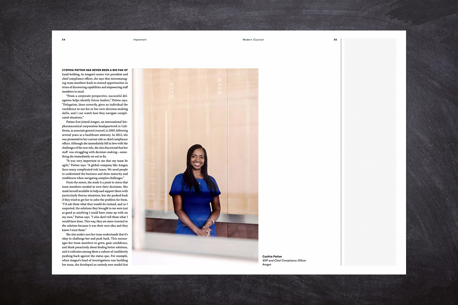 PATRICK STRATTNER PHOTOGRAPHY | TEAR SHEETS | Cynthia Patton / Modern Counsel.