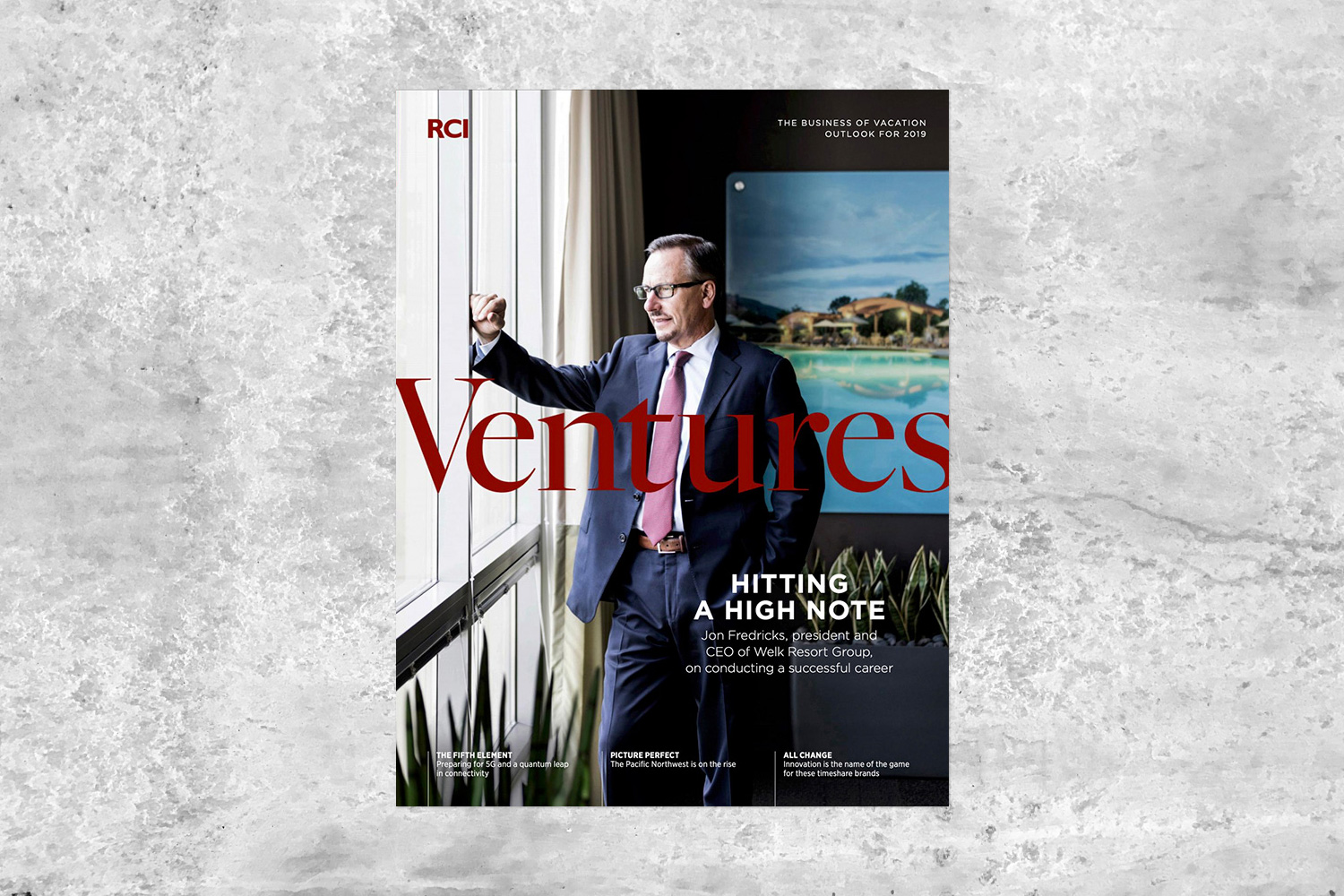 PATRICK STRATTNER PHOTOGRAPHY | TEAR SHEETS | Jon Fredricks / RCI Ventures