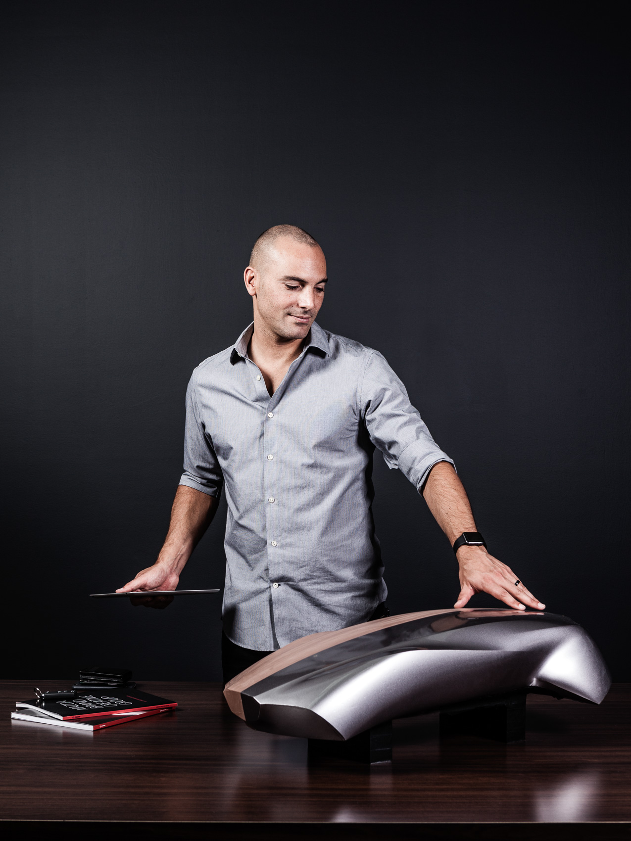 Julien Montousse, design director at Mazda North America / Zoom-Zoom Magazine | PATRICK STRATTNER PHOTOGRAPHY