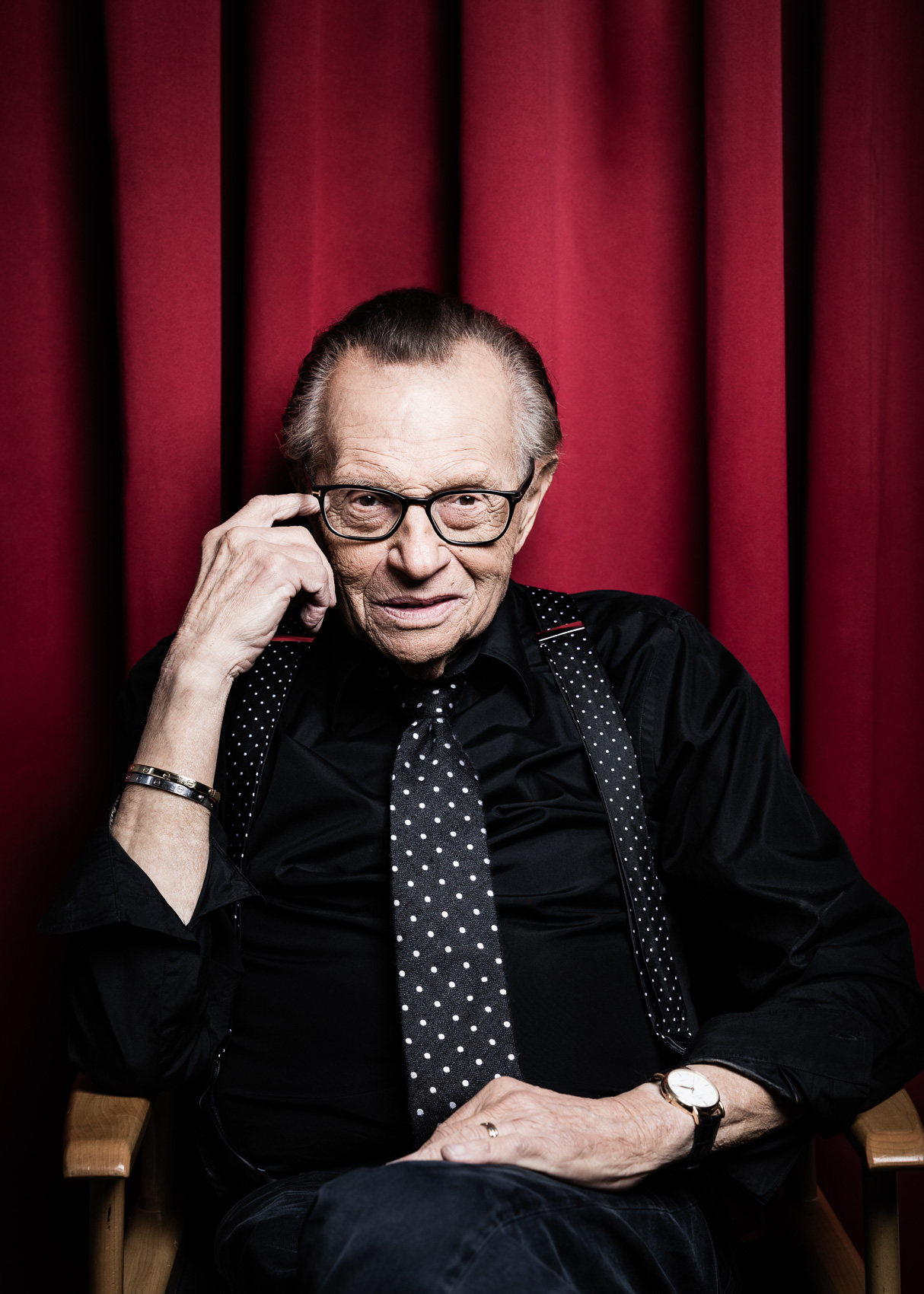 Larry King,  television and radio host / BILD | PATRICK STRATTNER PHOTOGRAPHY