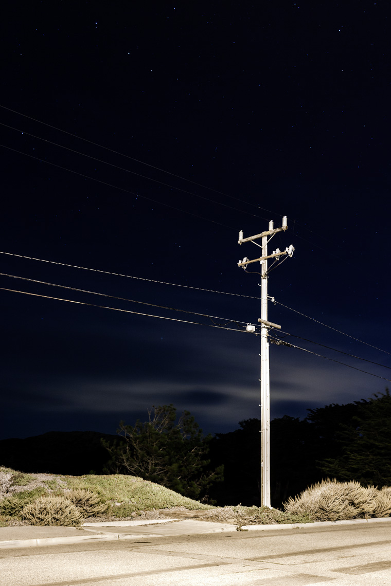 PATRICK STRATTNER PHOTOGRAPHY | Night Pole