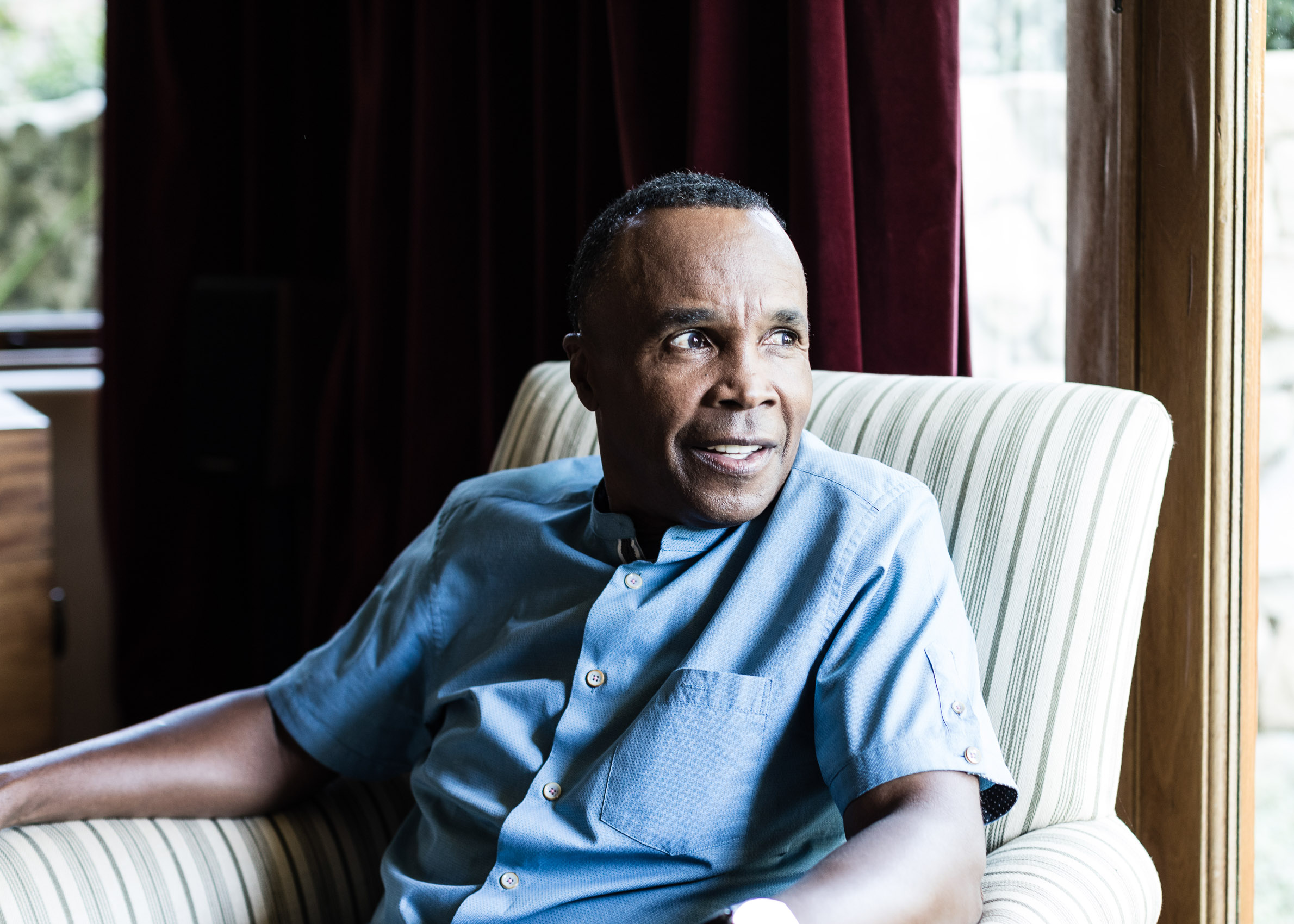 PATRICK STRATTNER PHOTOGRAPHY | Sugar Ray Leonard / Wall Street Journal