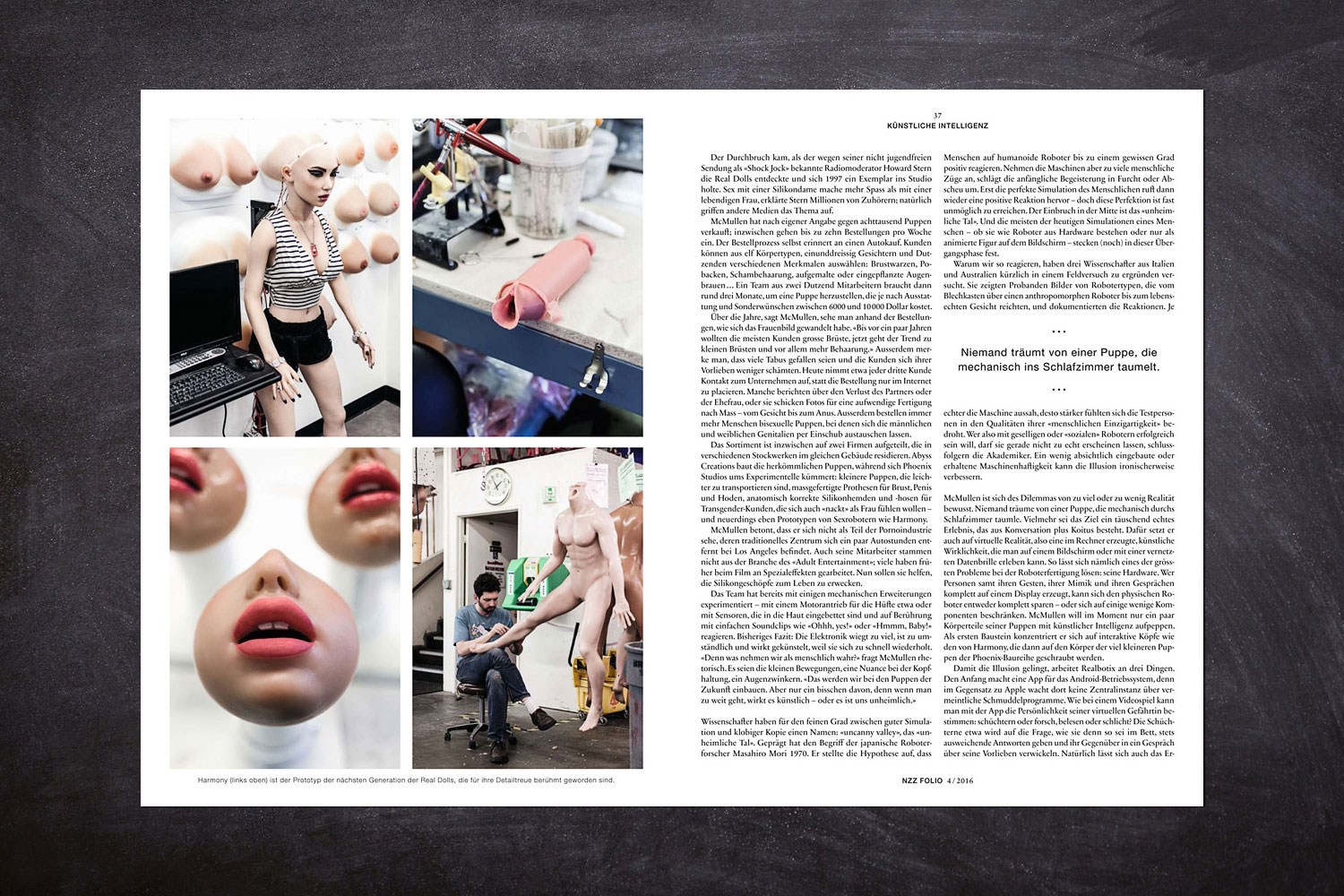 PATRICK STRATTNER PHOTOGRAPHY | TEAR SHEETS | Abyss Creations / NZZ Folio