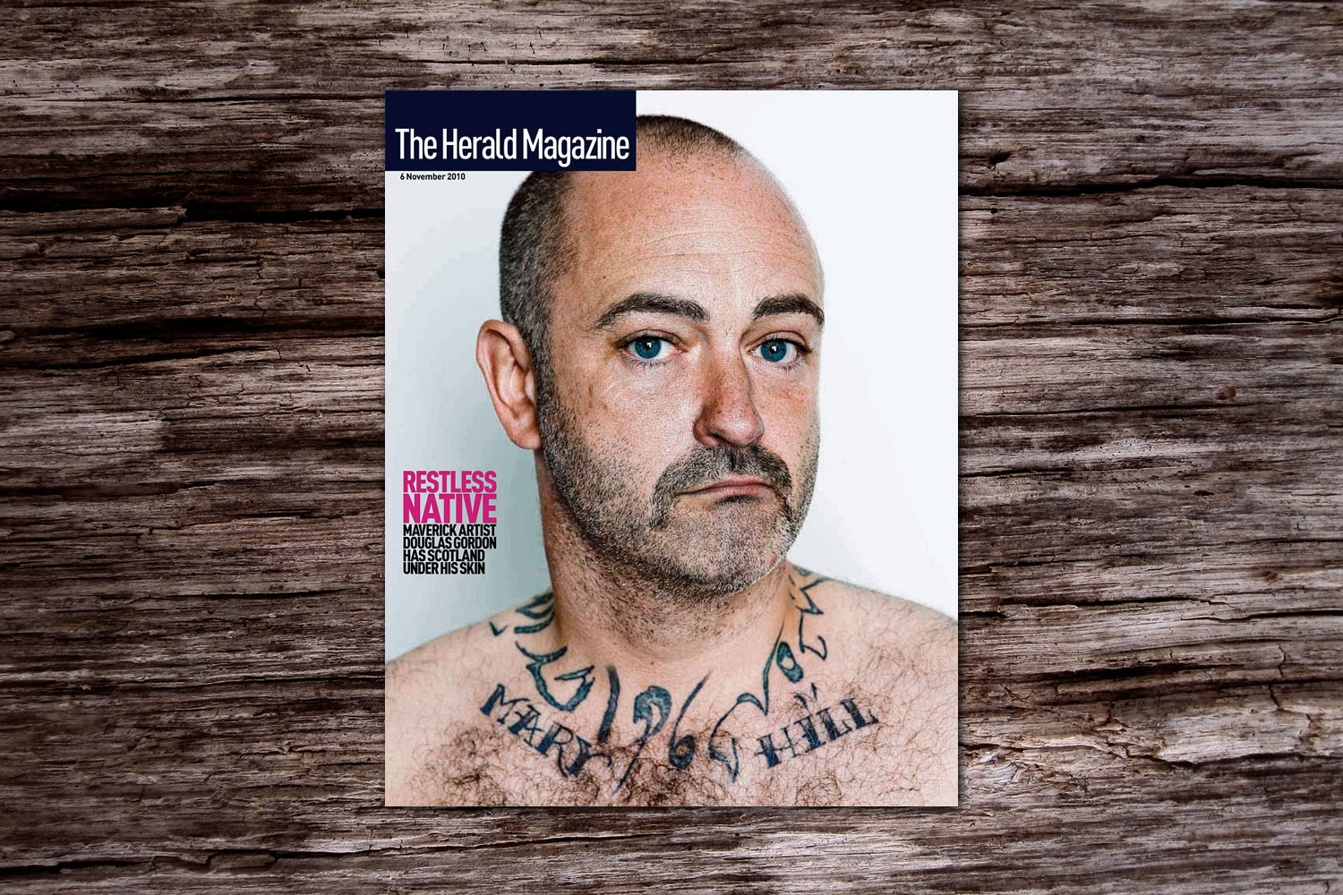 PATRICK STRATTNER PHOTOGRAPHY | TEAR SHEETS | Douglas Gordon / The Herald Magazine