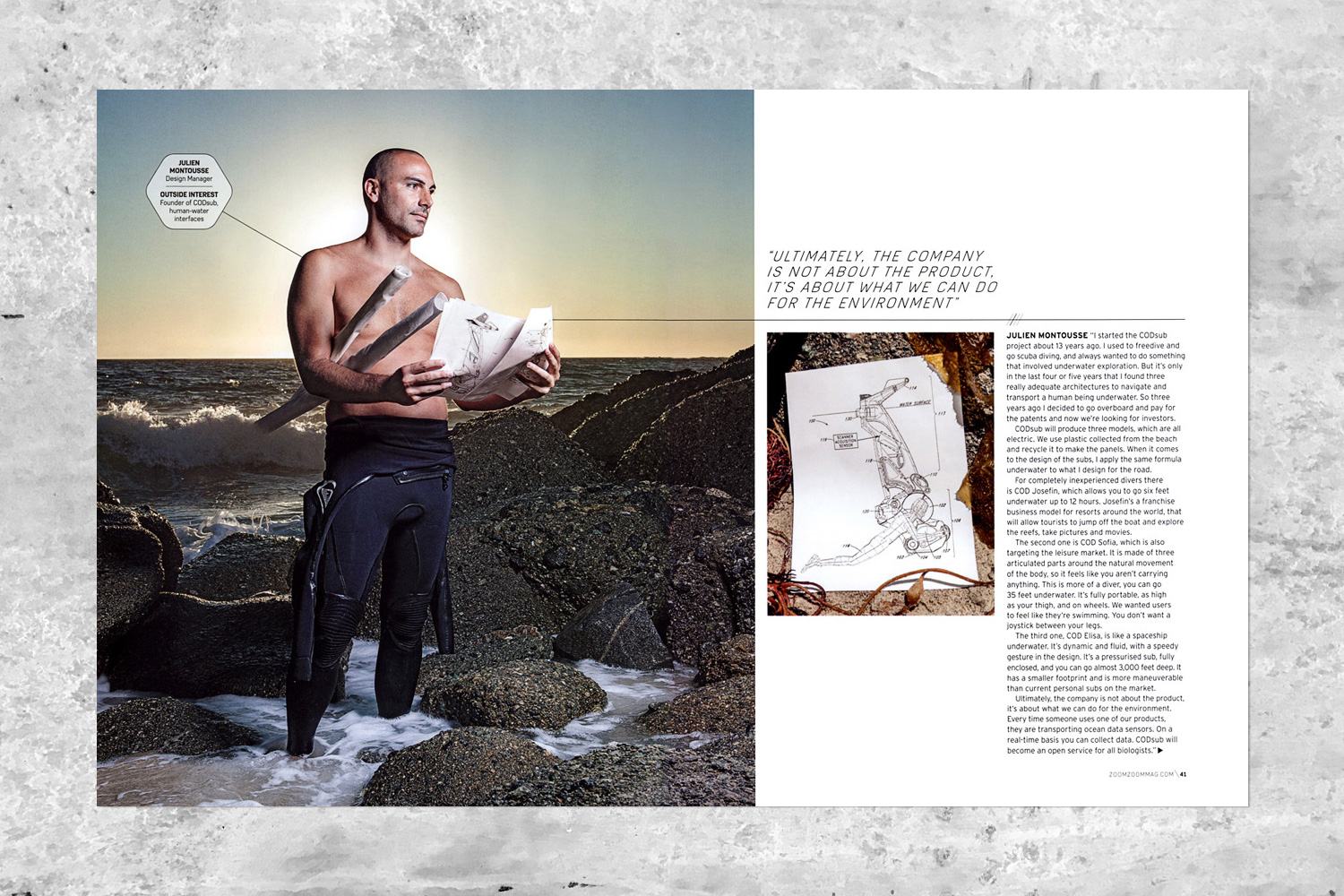 PATRICK STRATTNER PHOTOGRAPHY | TEAR SHEETS | Meet the makers / Zoom Zoom Magazine.