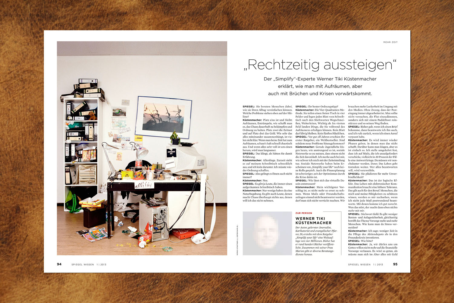 PATRICK STRATTNER PHOTOGRAPHY | TEAR SHEETS | Office Space / SPIEGEL Wissen