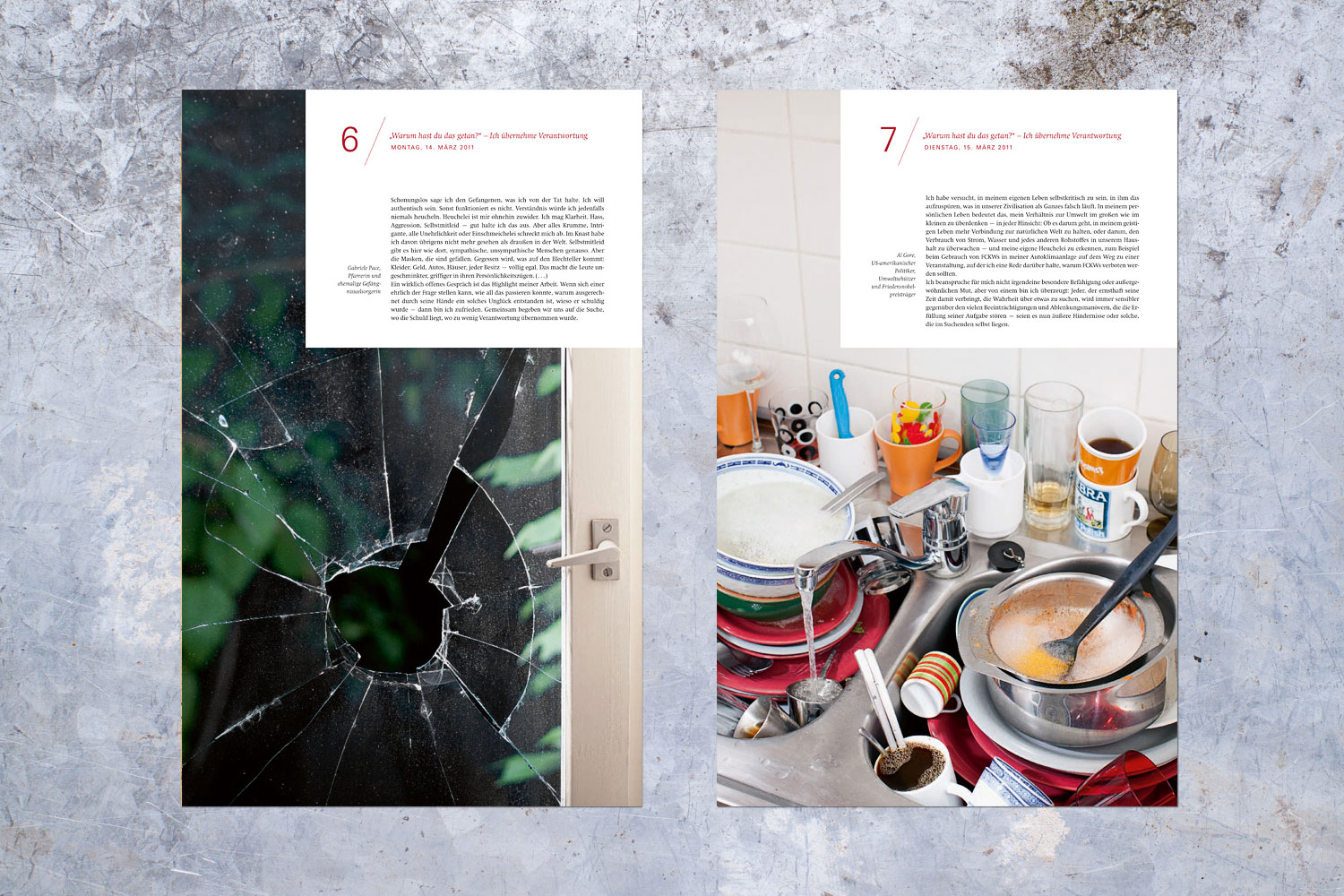 PATRICK STRATTNER PHOTOGRAPHY | TEAR SHEETS | 7 weeks without / Chrismon.